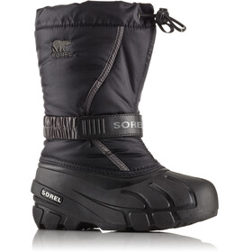Sorel Youth Flurry Boots Black/City Grey
